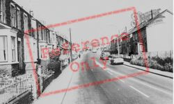 Commercial Road c.1965, Kenfig Hill