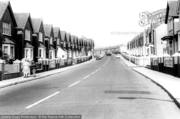 Photo of Kenfig Hill, Pisgah Street c.1965