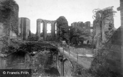 Castle, From Banqueting Hall c.1890, Kenilworth