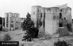 Kenilworth, Castle From Gatehouse c.1960