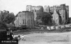 Kenilworth, Castle From The Bridge c.1870