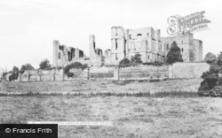 Kenilworth, Castle From The South c.1955
