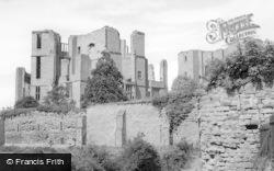 Kenilworth, Castle From Tilt Yard c.1955