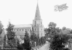 Kenilworth, Church Of St Nicholas From The North West 1892