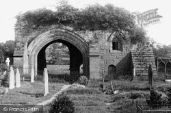 Kenilworth, Old Priory In Churchyard 1892