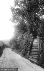 Kenley, Church Steps 1903
