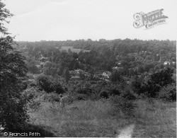 Kenley, From The Downs c.1955