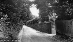 Kenley, Kenley Lane c.1955