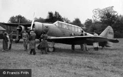 Kenley, North American Harvard Aircraft c.1938