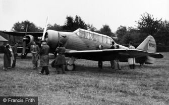 Kenley, North American Harvard Aircraft c1938