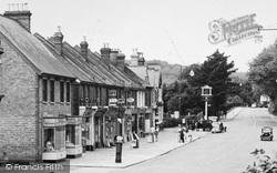 Kenley, Shops In Godstone Road c.1955