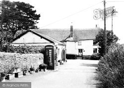 Kennerleigh, Post Office c.1960