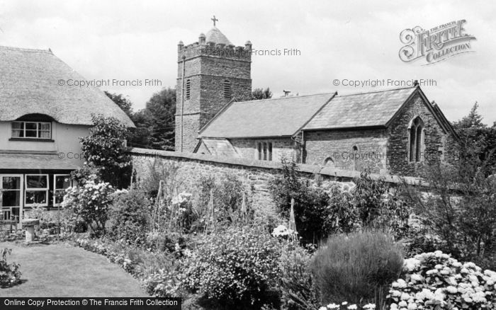 Photo of Kennerleigh, St John The Baptist's Church c.1960