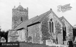 St John The Baptist's Church c.1960, Kennerleigh