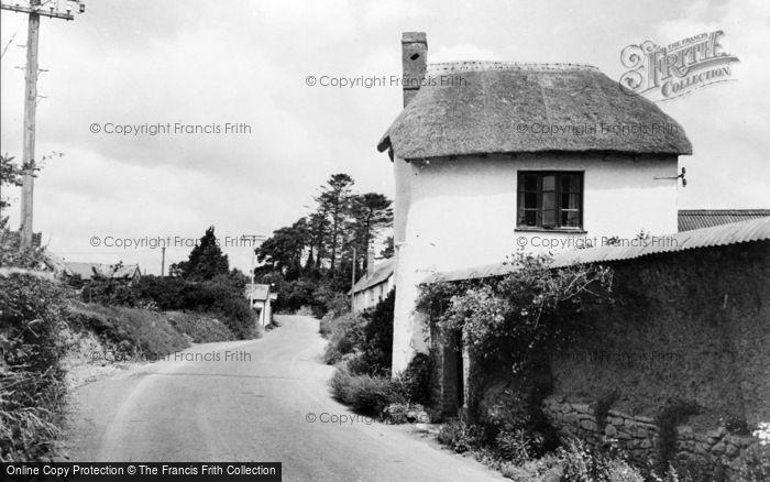 Photo of Kennerleigh, The Village c.1960