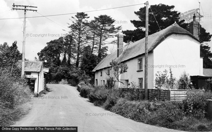 Photo of Kennerleigh, The Village c.1960