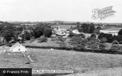 View From The Beacon c.1960, Kennerleigh