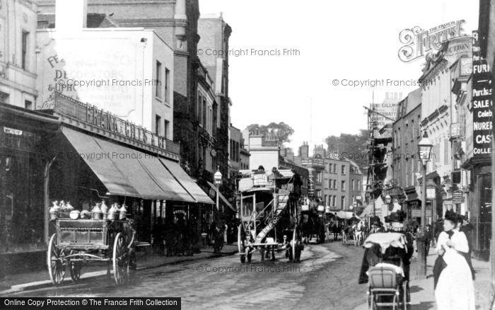 Kensington, High Street 1893