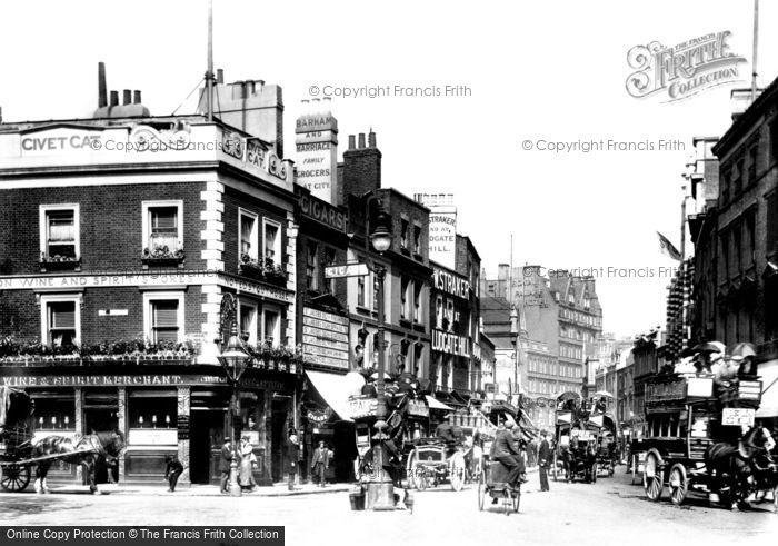Photo of Kensington, High Street 1899