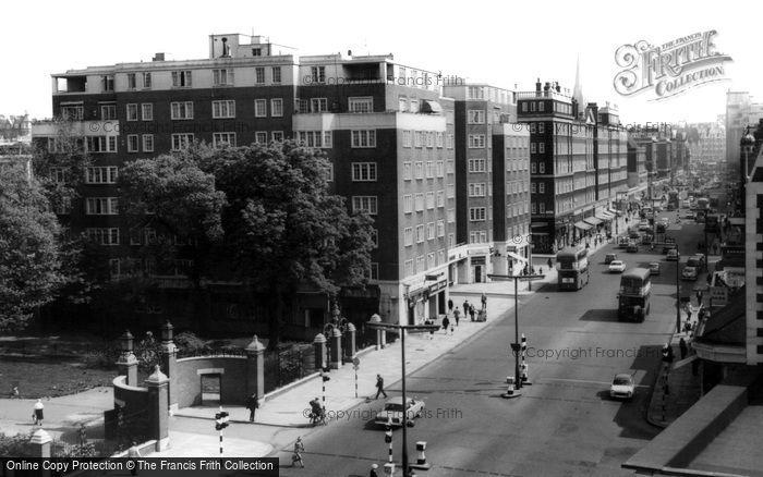 Photo of Kensington, High Street c.1965
