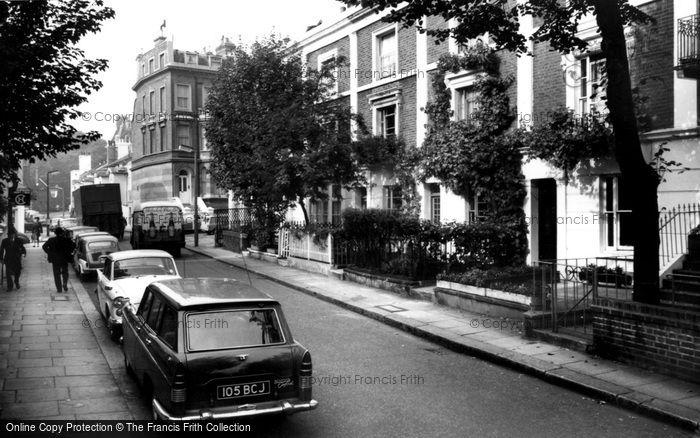 Photo of Kensington, Holland Street c.1965