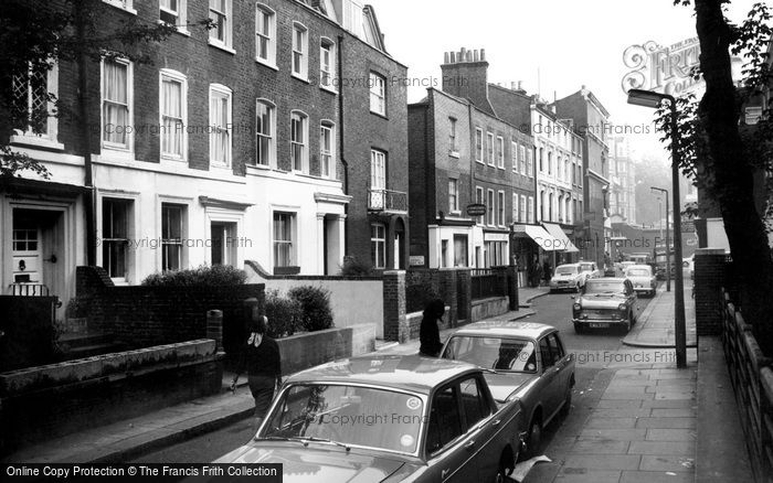 Kensington, Holland Street c1965