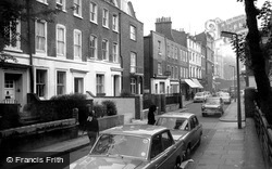 Kensington, Holland Street c.1965