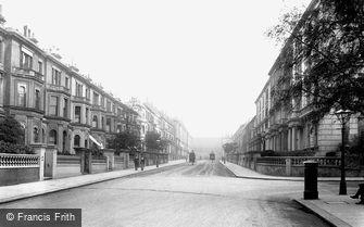Kensington, Kensington Palace Gardens Terrace 1906