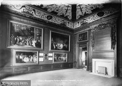 Kensington Palace, Presence Chamber 1899, Kensington