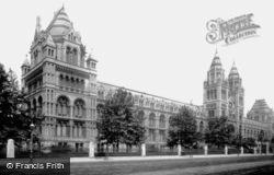 Natural History Museum 1899, Kensington