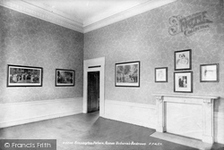 Kensington, Palace, Queen Victoria's Bedroom 1899
