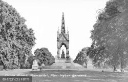 Prince Albert Memorial, Kensington Gardens c.1955, Kensington