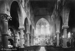 Kensington, Pro Cathedral Interior 1899