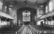 Kensington, St Barnabas Church Interior 1904