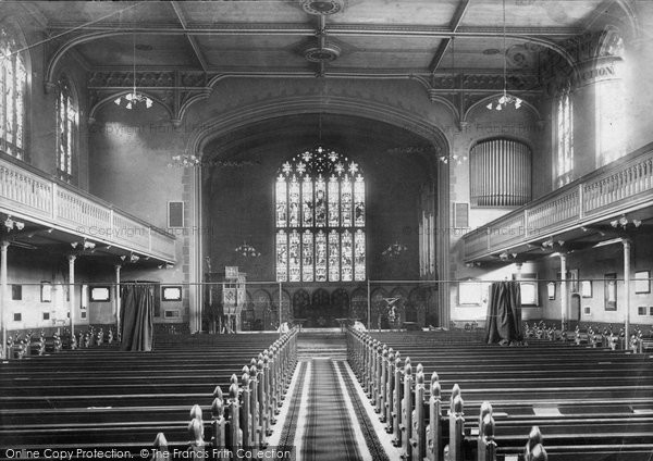 interior design team photo jigsaw of kensington st barnabas church interior 1904 1904