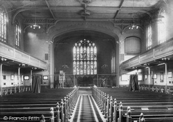 Kensington, St Barnabas Church Interior 1904