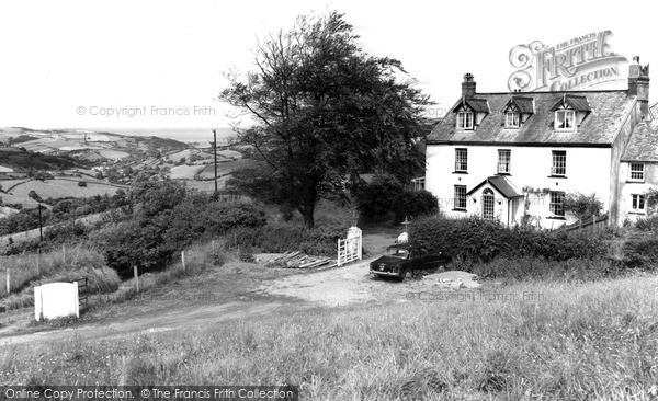Kentisbury, Coulsworthy Guest House c1960