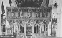 Church Interior 1907, Kenton