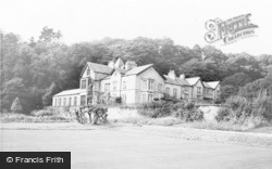 Kents Bank, Abbot Hall From The Bowling Green c.1960