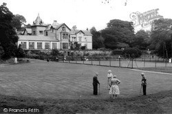 Kents Bank, Abbot Hall From The Putting Green c.1960