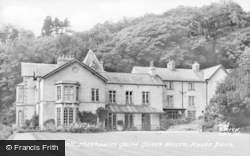 Kents Bank, Abbot Hall, Methodist Guild Guest House c.1955