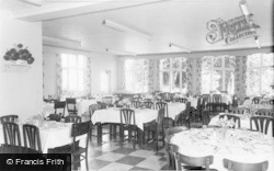 Kents Bank, Abbot Hall, The Dining Room c.1960