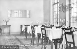Kents Bank, The Dining Room, Abbot Hall c.1955