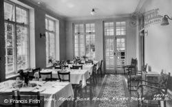 The Dining Room, Kents Bank House c.1955, Kents Bank