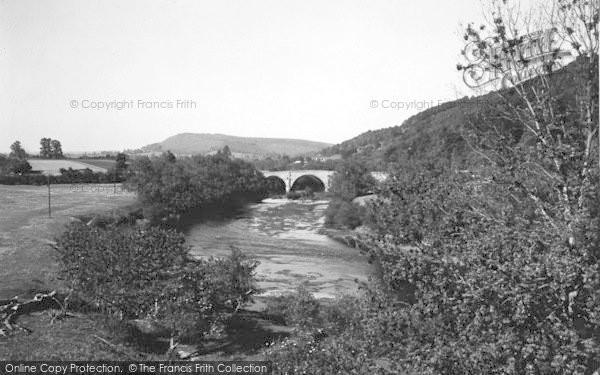 Photo of Kerne Bridge, c.1950