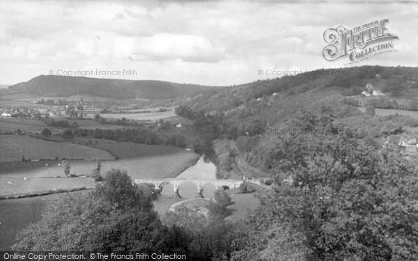 Photo of Kerne Bridge, c.1955