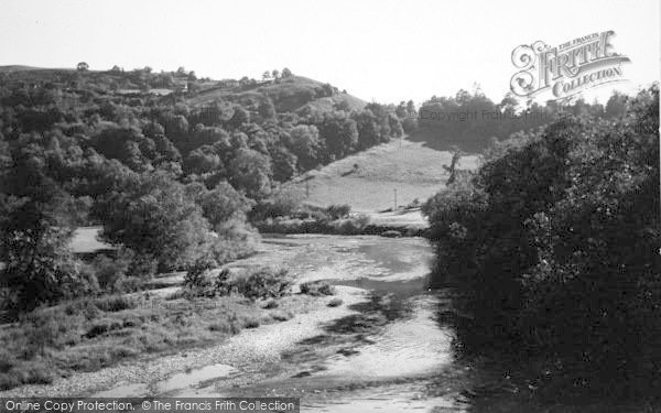 Photo of Kerne Bridge, The Wye c.1950