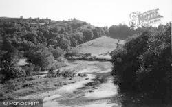The Wye c.1950, Kerne Bridge