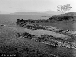 Kerrera, From Gylen Castle 1955