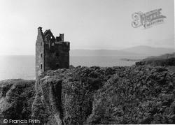 Kerrera, Gylen Castle 1955